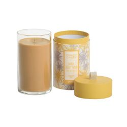 Candele Yankee Candle online  color giallo  Warm Desert Wind Boxed Pillar online - Prezzo:   21.90 €