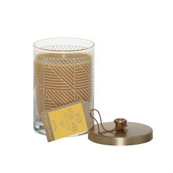 Candele profumate  color giallo  Warm Desert Wind Screened Pillar online - Prezzo:   14.90 €