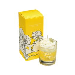 Candele profumate Bomb Cosmetici color giallo  PIPED CANDLE Lemon Drop online - Prezzo:   10.90 €