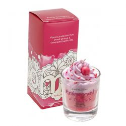 Candele profumate Bomb Cosmetici color rosso  PIPED CANDLE Red Currant + Cassis online - Prezzo:   8.15 €