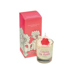 Candele profumate Bomb Cosmetici color bianco  PIPED CANDLE Coming Up Roses online - Prezzo:   8.15 €