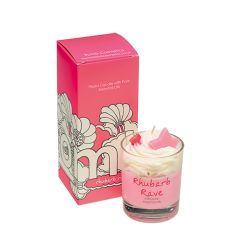 Candele profumate  color rosa  PIPED CANDLE Rhubarb Rave online - Prezzo:   10.90 €