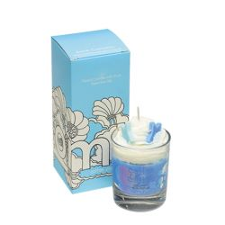 Candele profumate Bomb Cosmetici color blu  PIPED CANDLE Cotton Clouds online - Prezzo:   8.15 €