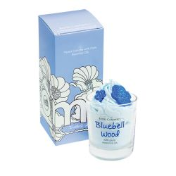 Candele profumate  color azzurro  PIPED CANDLE Bluebell Mood online - Prezzo:   10.90 €