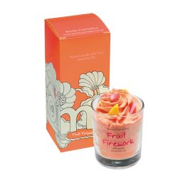 Candele profumate Bomb Cosmetici color arancione  PIPED CANDLE Fruit Firework online - Prezzo:   10.90 €