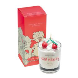 Candele profumate Bomb Cosmetici color bianco  PIPED CANDLE Wild Cherry online - Prezzo:   10.90 €