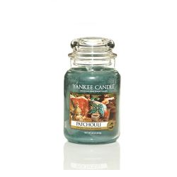 Giare grandi Yankee Candle  color verde  Patchouli Large Jar online - Prezzo:   20.93 €
