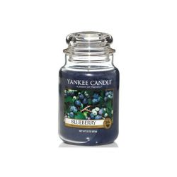 Candele Yankee Candle online  color blu  Blueberry Large Jar online - Prezzo:   29.90 €