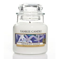 Candele profumate Yankee Candle color bianco  Midnight Jasmine Small Jar online - Prezzo:   8.93 €