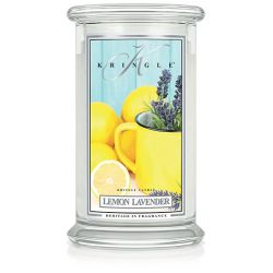 Candele profumate Kringle color bianco  Lemon Lavender Large Jar online - Prezzo:   30.95 €
