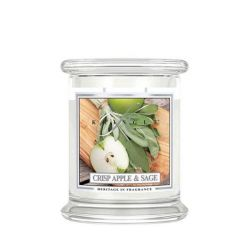 Candele profumate Kringle color bianco  Crisp Apple & Sage Medium Jar online - Prezzo:   26.95 €
