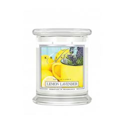 Candele profumate  color bianco  Lemon Lavender Medium Jar online - Prezzo:   26.95 €