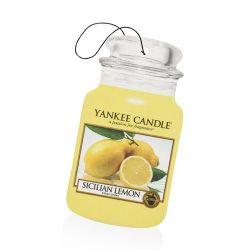 Yankee Candle per auto  color giallo  Sicilian Lemon Car Jar online - Prezzo:   2.99 €