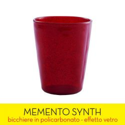 Living Memento color rosso  SYNTH red online - Prezzo:   4.90 €