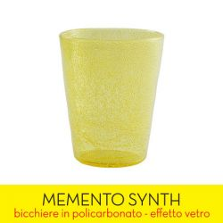 Living Memento color giallo  SYNTH yellow transparent online - Prezzo:   4.90 €