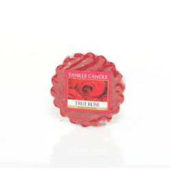 Candele profumate Yankee Candle color rosso  True Rose Wax Melt online - Prezzo:   1.57 €