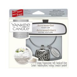 Profumatori per auto Yankee Candle color bianco  Charming Scents KIT SQUARE online - Prezzo:   11.99 €