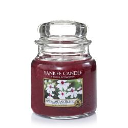 Candele profumate Yankee Candle color rosso  Madagascan Orchid Medium Jar online - Prezzo:   24.90 €