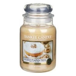 Giare grandi Yankee Candle  color beige  Luscious Pumpkin Trifle Large Jar online - Prezzo:   29.90 €