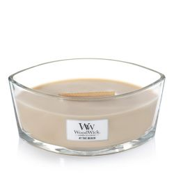 Candele profumate WoodWick color giallo  Candela Ellipse AT THE BEACH online - Prezzo:   34.90 €