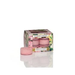 Candele profumate Yankee Candle color rosa  Fresh Cut Roses Tea Light online - Prezzo:   9.95 €