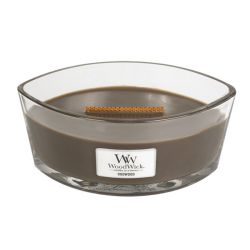 Candele profumate WoodWick color marrone  Candela Ellipse OUDWOOD online - Prezzo:   34.90 €