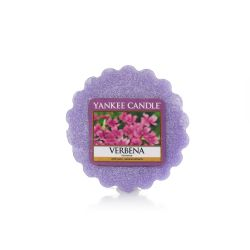 Candele profumate Yankee Candle color viola  Verbena Tarts Wax Melts online - Prezzo:   2.25 €