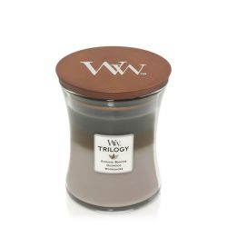 Candele profumate WoodWick color multicolor  Candela Media Trilogy COZY CABIN online - Prezzo:   22.90 €