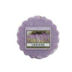 Candele profumate Yankee Candle color viola  Lavender Tarts Wax melts online - Prezzo:   2.25 €