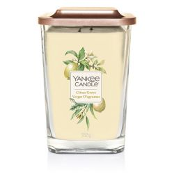 Candele profumate Yankee Candle color giallo  Citrus Groove Large Jar online - Prezzo:   29.90 €
