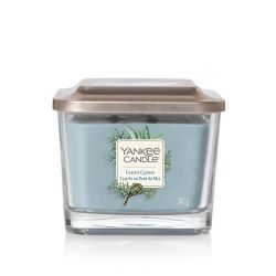 Candele profumate Yankee Candle color blu  Coastal Cypress Medium Jar online - Prezzo:   24.90 €