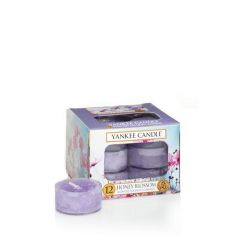 Candele profumate Yankee Candle color viola  Honey Blossom Tea Light online - Prezzo:   6.96 €