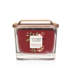 Candele profumate Yankee Candle color rosso  Holiday Pomegranate Medium Jar online - Prezzo:   24.90 €