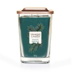 Candele profumate Yankee Candle color blu  Frosted Fir Large Jar online - Prezzo:   29.90 €