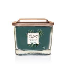 Candele profumate Yankee Candle color blu  Frosted Fir Medium Jar online - Prezzo:   24.90 €