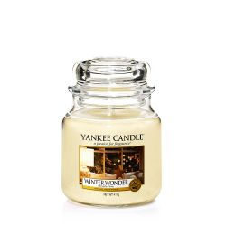 Candele profumate Yankee Candle color beige  Winter Wonder Medium Jar online - Prezzo:   24.90 €