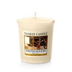 Candele profumate Yankee Candle color beige  Winter Wonder Votive Candle online - Prezzo:   2.65 €