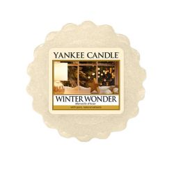 Candele profumate Yankee Candle color beige  Winter Wonder Wax Melt online - Prezzo:   2.25 €