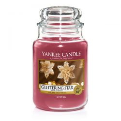 Candele profumate Yankee Candle color rosso  Glittering Star Large Jar online - Prezzo:   29.90 €