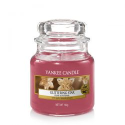 Candele profumate Yankee Candle color rosso  Glittering Star Small Jar online - Prezzo:   11.90 €