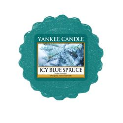 Candele profumate Yankee Candle color blu  Icy Blue Spruce Wax Melt online - Prezzo:   1.58 €