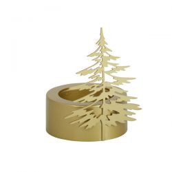 Accessori Yankee Candle color dorato  Winter Trees Porta Tea Light online - Prezzo:   4.95 €