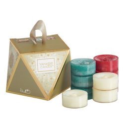 Confezioni regalo Yankee Candle color dorato  Gift Set TEA LIGHT online - Prezzo:   7.95 €