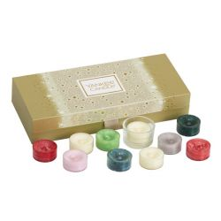 Confezioni regalo Yankee Candle color dorato  Gift Set TEA LIGHT online - Prezzo:   11.95 €