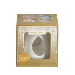 Confezioni regalo Yankee Candle color dorato  Gift Set WAX WARMER online - Prezzo:   16.95 €