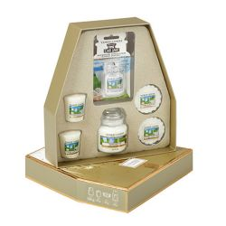 Confezioni regalo Yankee Candle color dorato  Gift Set CLEAN COTTON online - Prezzo:   22.95 €