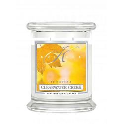 Candele profumate Kringle Candle color bianco  Clearwater Creek Medium Jar online - Prezzo:   26.90 €