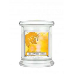 Candele profumate Kringle Candle color bianco  Clearwater Creek Small Jar online - Prezzo:   16.90 €