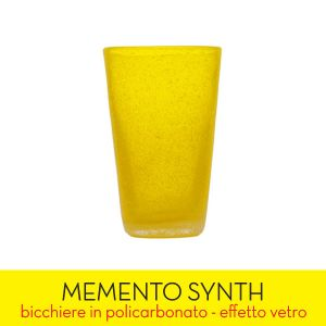 Living Memento color giallo  SYNTH Yellow Transparent online - Prezzo:   7.90 €
