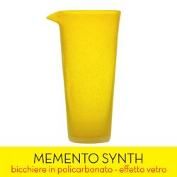 Living Memento color giallo  SYNTH Yellow Transparent online - Prezzo:   15.90 €